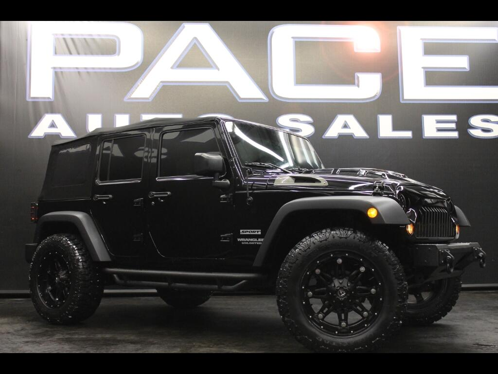 2016 Jeep Wrangler Unlimited Sport 4WD Lifted Custom