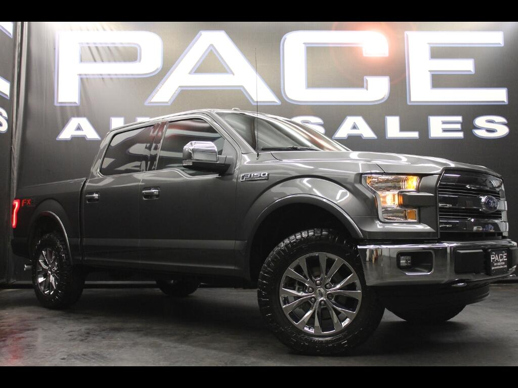 2016 Ford F-150 Lariat SuperCrew 4WD FX4 Leveled