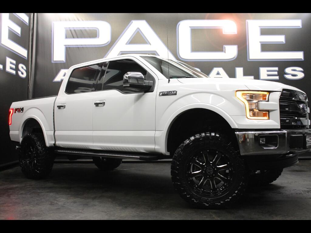 2016 Ford F-150 Lariat SuperCrew 4WD Lifted Custom