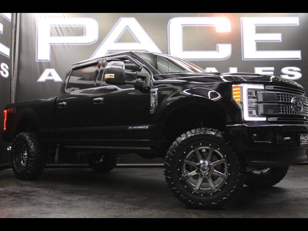 2017 Ford F-250 SD Platinum Crew Cab 4WD Lifted Custom