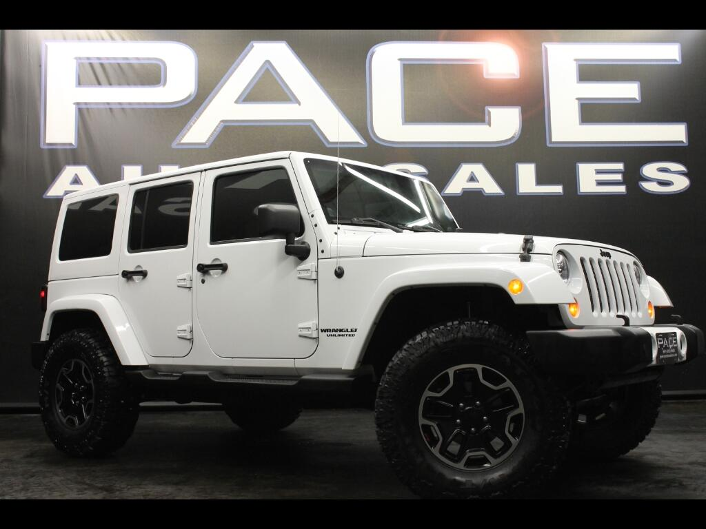 2012 Jeep Wrangler Unlimited Sahara 4WD Lifted Custom