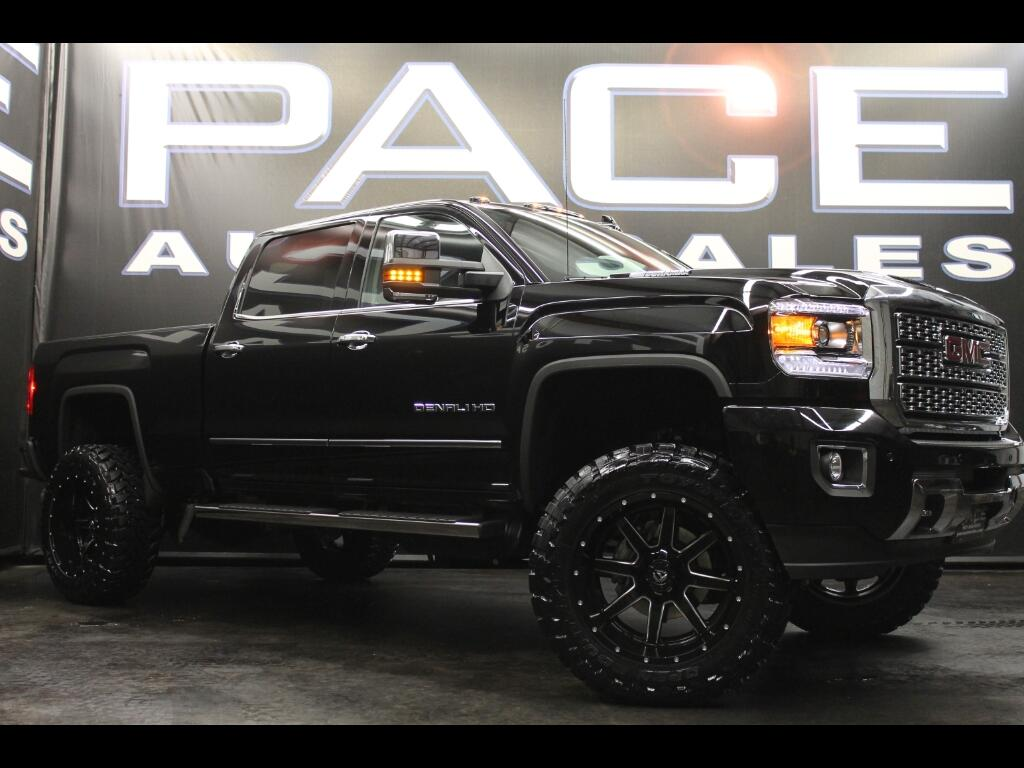 2018 GMC Sierra 2500HD Denali Crew Cab 4WD Lifted Custom