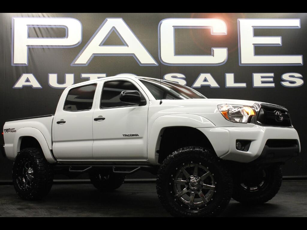 2015 Toyota Tacoma Double Cab TRD OFF ROAD Lifted Custom