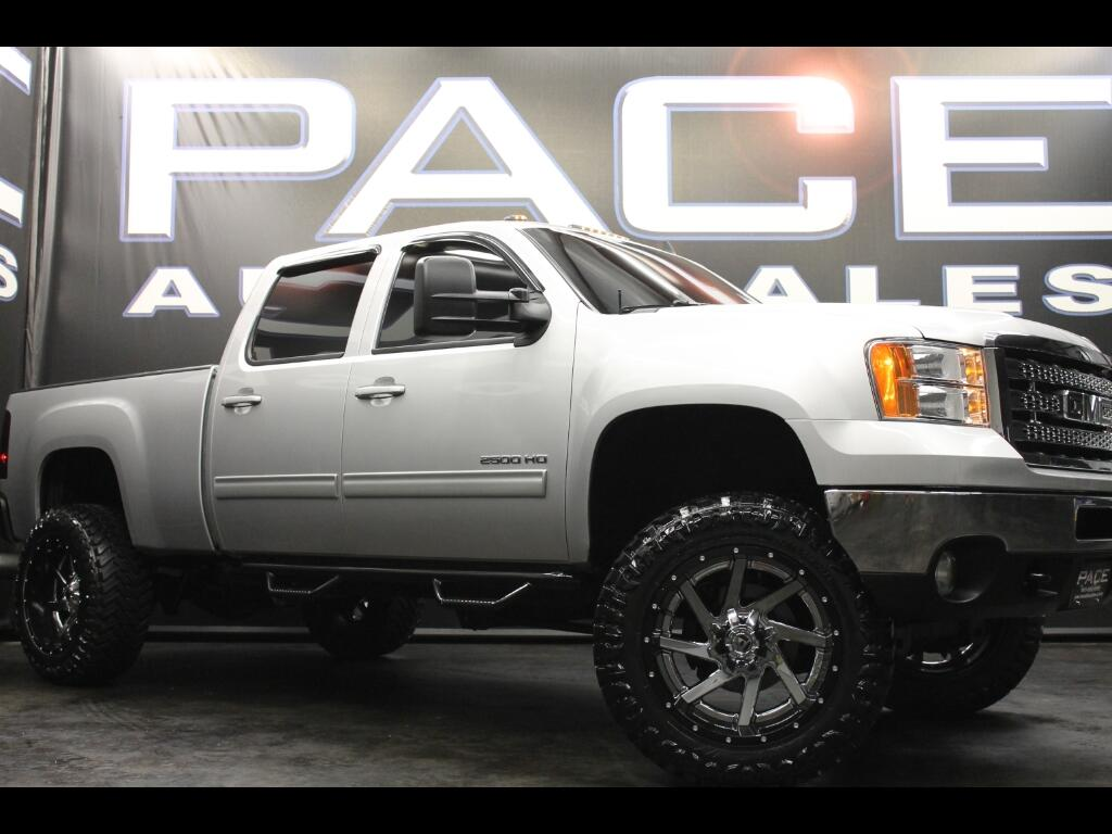 2011 GMC Sierra 2500HD SLT Crew Cab 4WD Lifted Custom