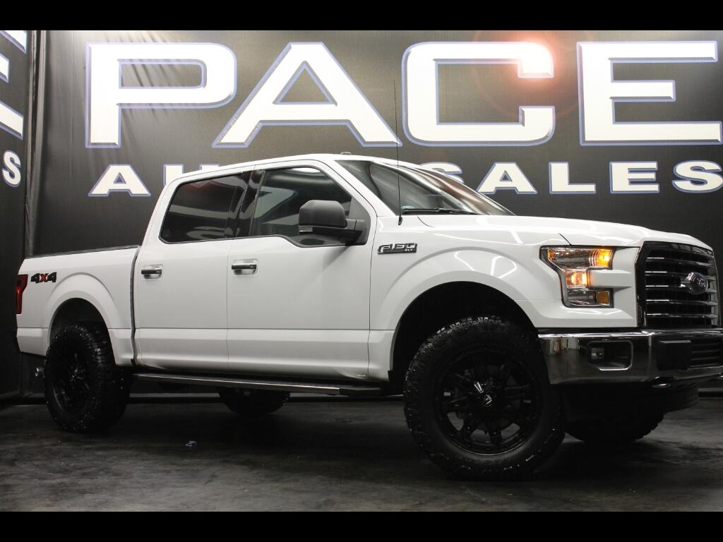 2017 Ford F-150 XLT SuperCrew 4WD Leveled Custom