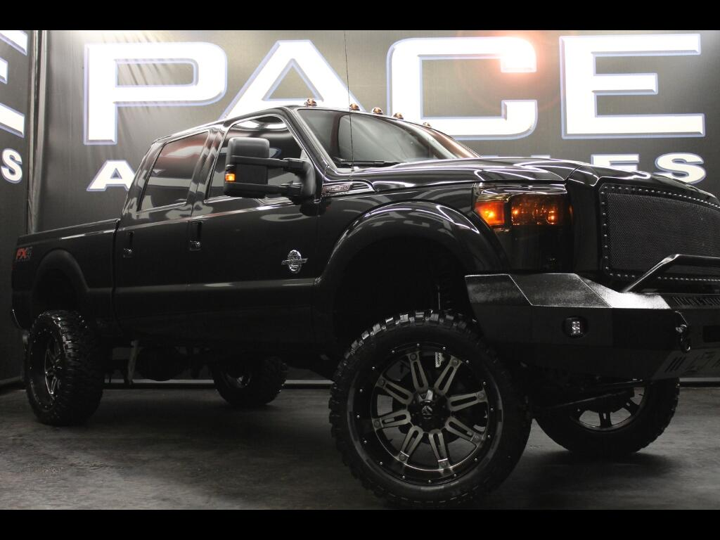 2015 Ford F-250 SD Lariat Crew Cab FX4 4WD Lifted Custom