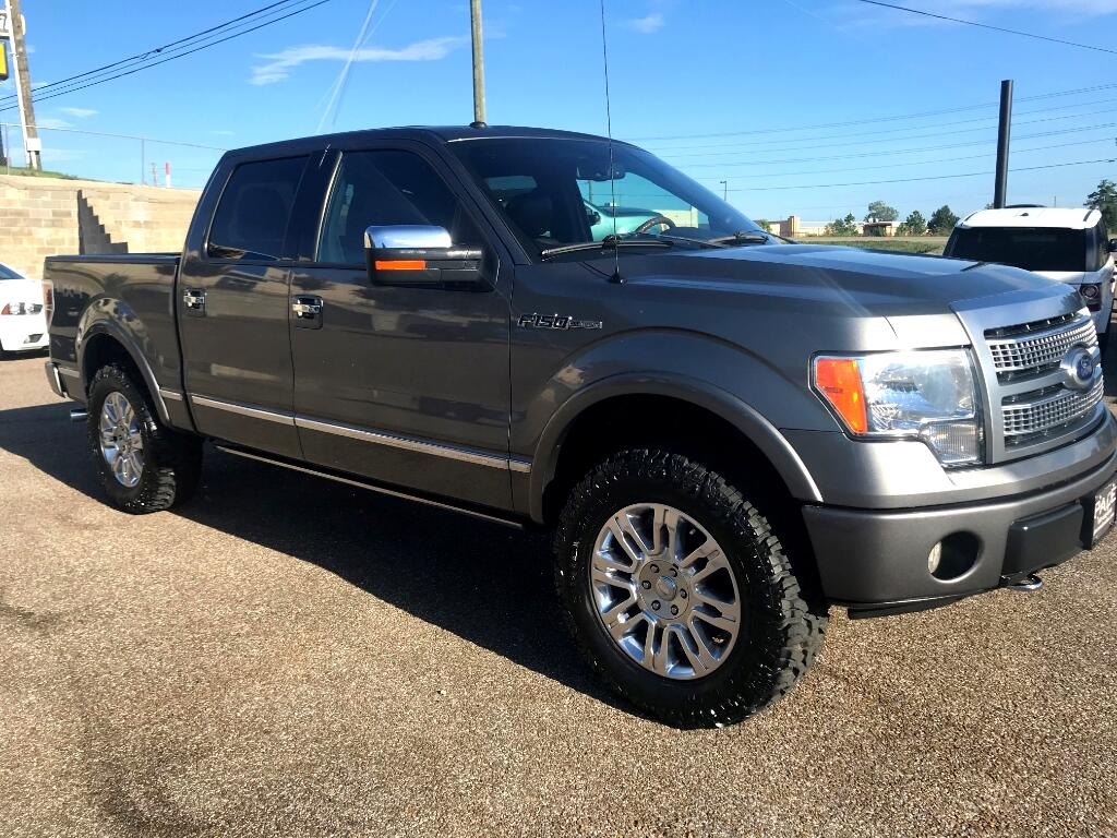 2010 Ford F-150 PLATINUM SUPERCREW 5.5-FT BED 4WD