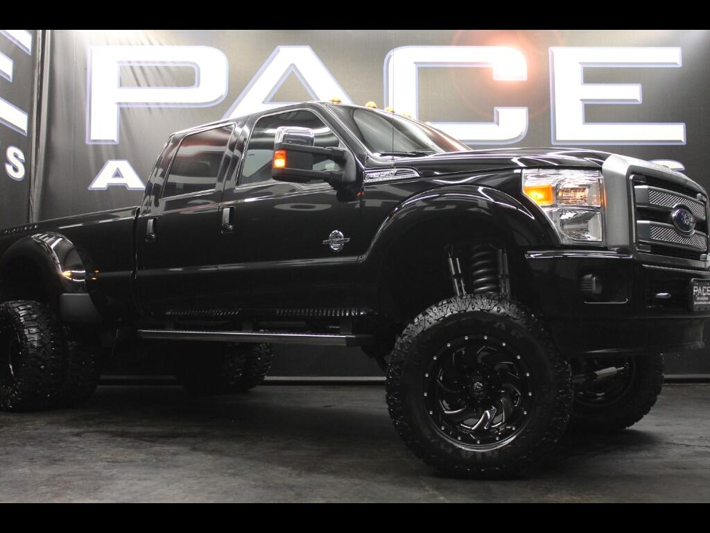 2016 Ford F-350 SD Platinum Crew Cab 4WD Lifted Custom