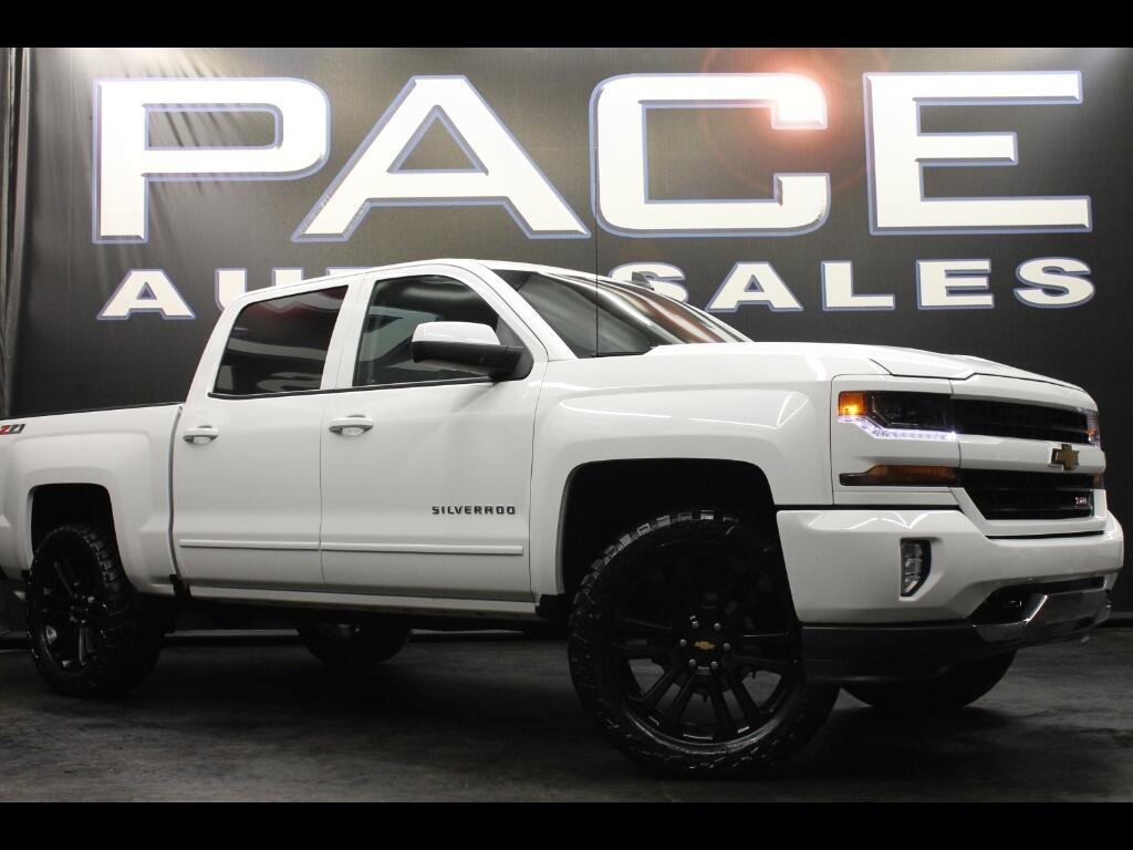 Used Cars For Sale Hattiesburg Ms 39402 Pace Auto Sales White Lifted Chevy Silverado 2017 Chevrolet 1500 Z71 Crew Cab 4wd Leveled Custom