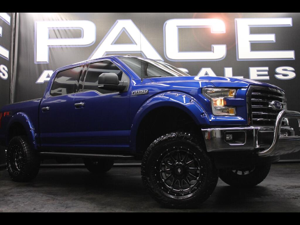 2017 Ford F-150 FX4 SuperCrew 4WD Lifted Custom