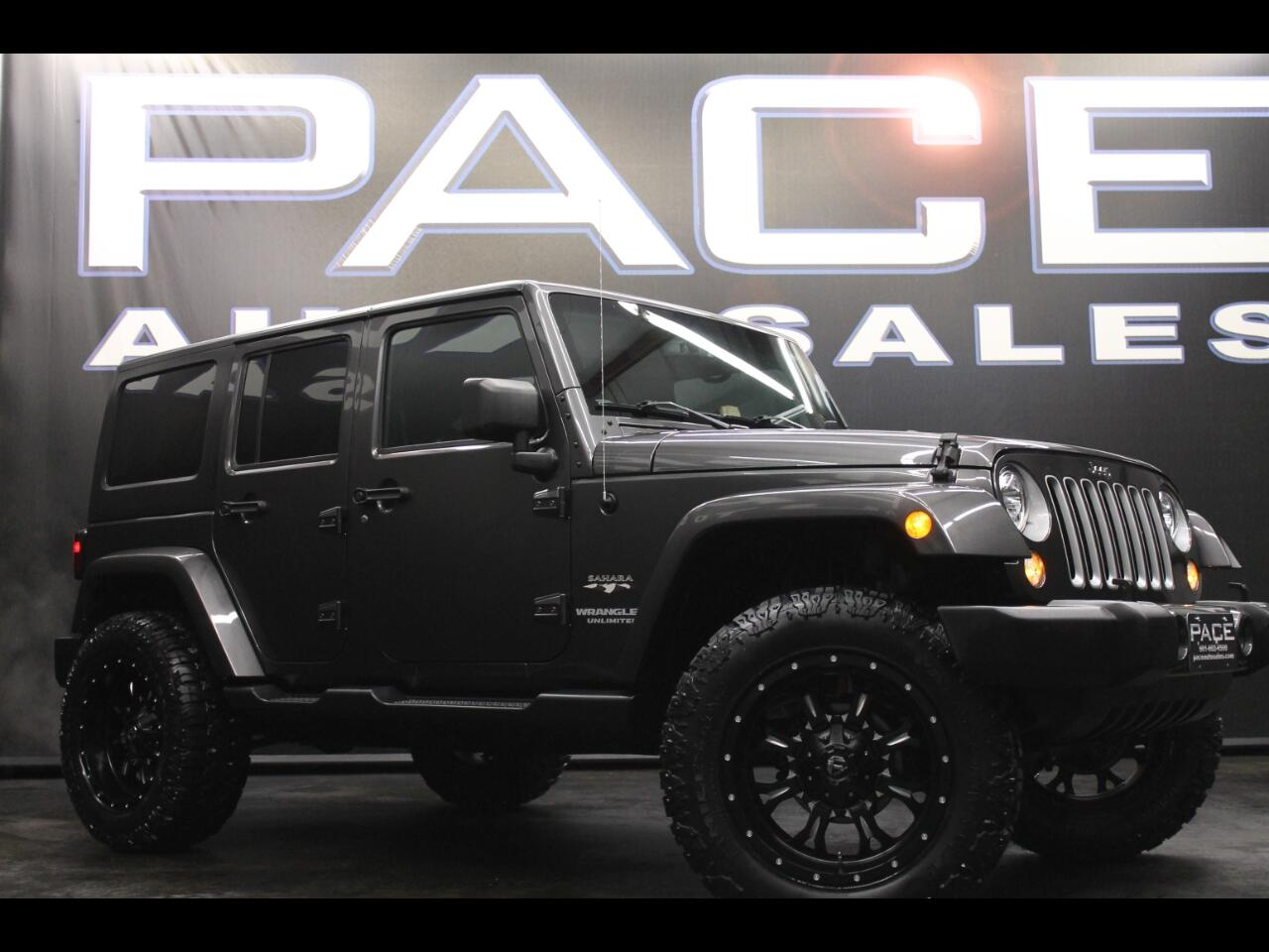 2017 Jeep Wrangler Unlimited Sahara 4WD Lifted Custom
