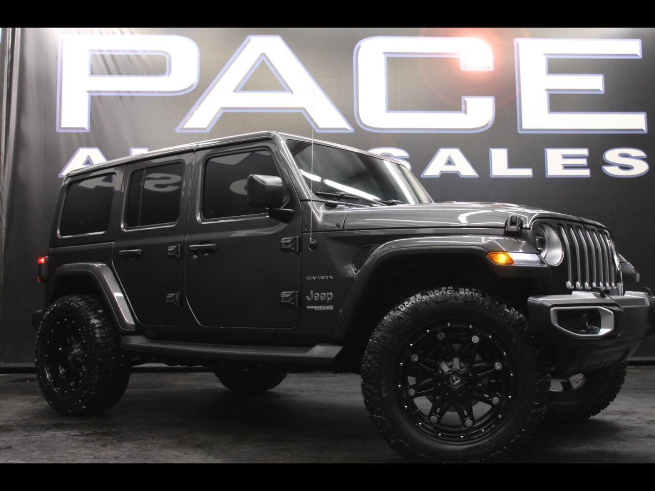 2018 Jeep Wrangler Unlimited Sahara 4x4 Lifted Custom