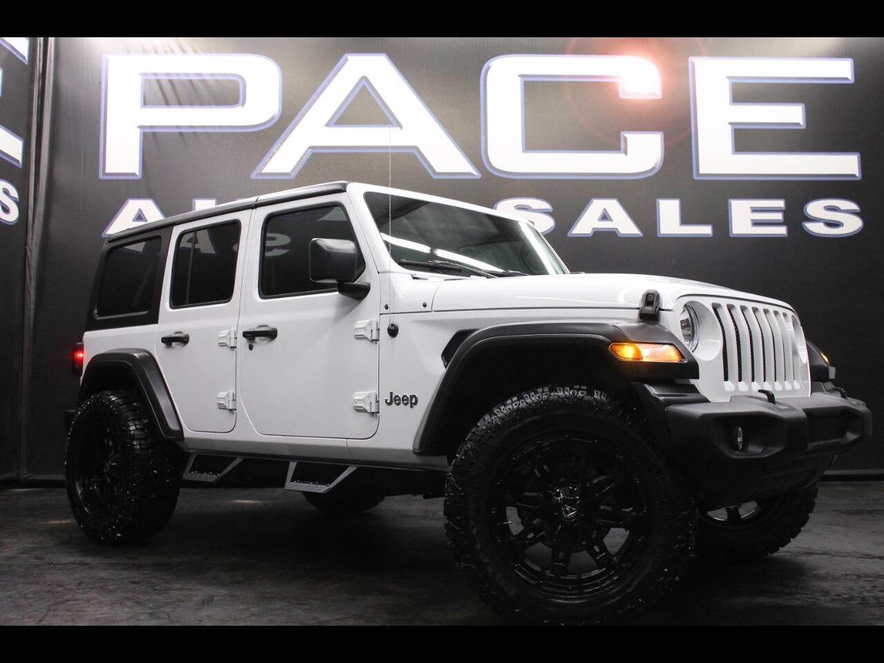 2018 Jeep Wrangler Unlimited Sport 4X4 Lifted Custom