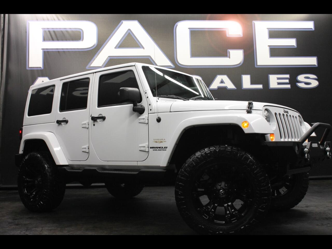 2013 Jeep Wrangler Unlimited 4WD Sahara Custom Lifted