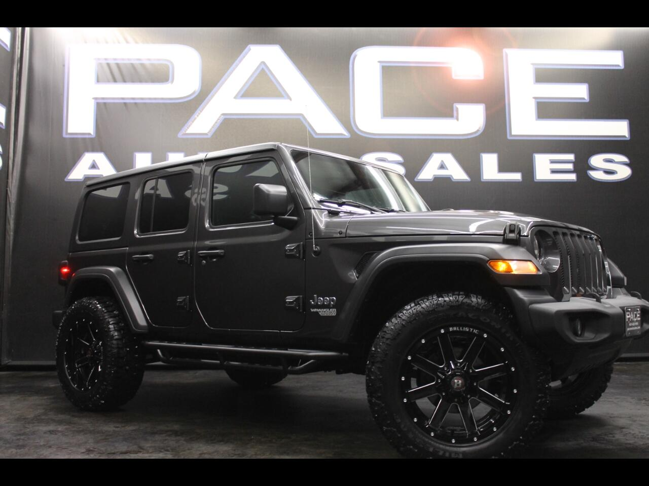 2018 Jeep Wrangler Unlimited Sport S 4x4 Lifted Custom