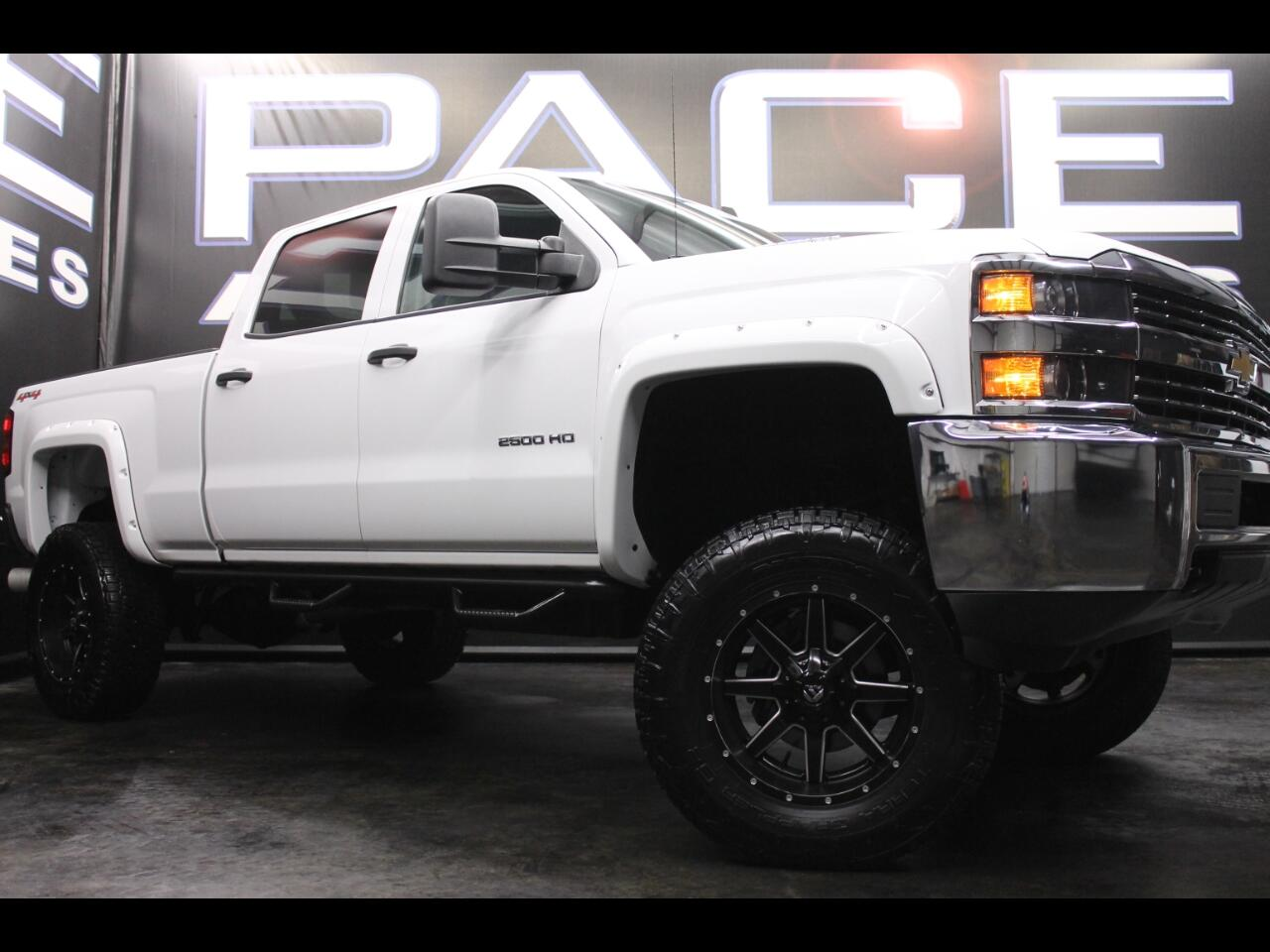 2015 Chevrolet Silverado 2500HD 4WD Crew Cab Lifted Custom