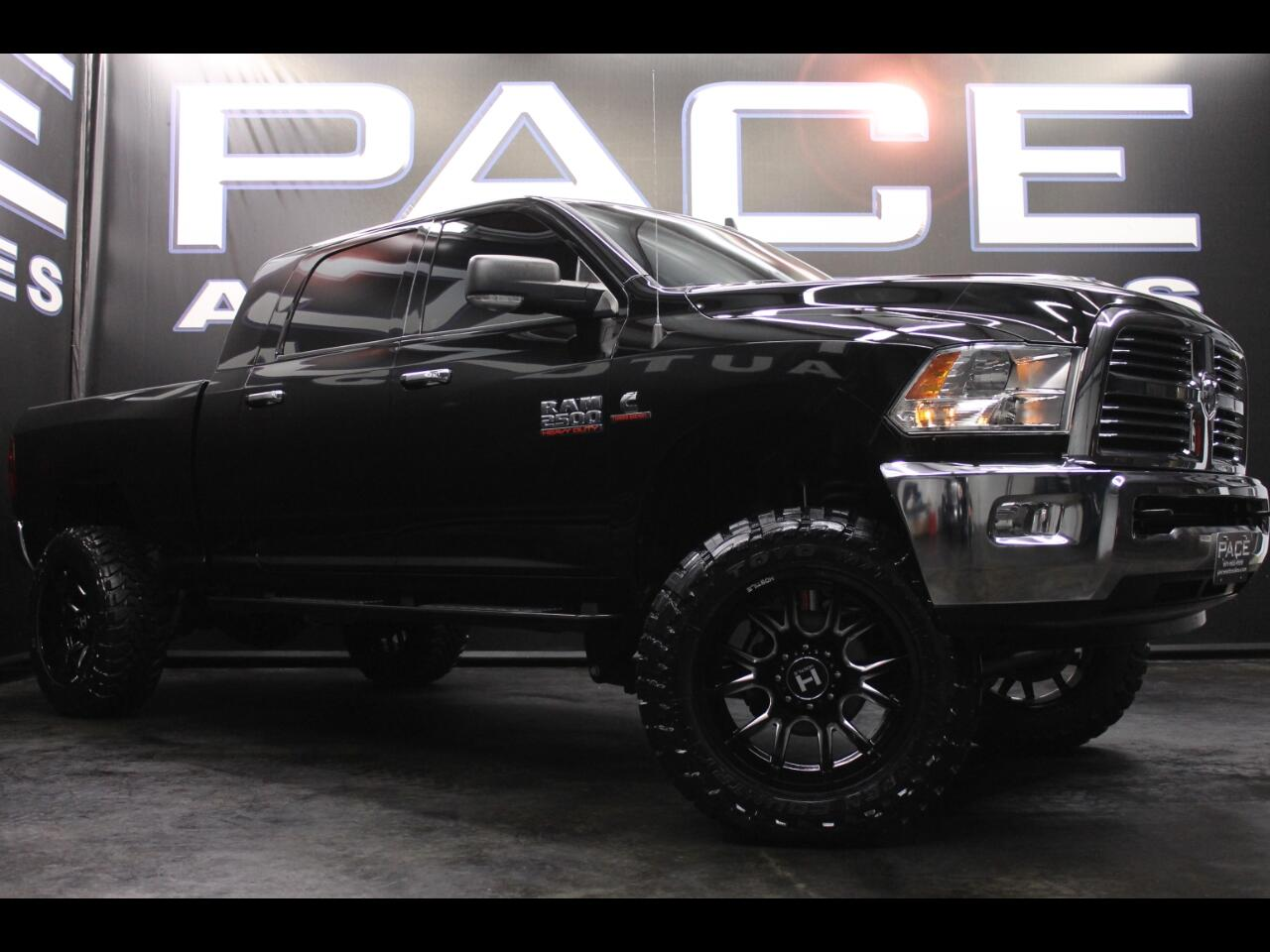 2014 RAM 2500 4WD Mega Cab Lone Star Lifted Custom