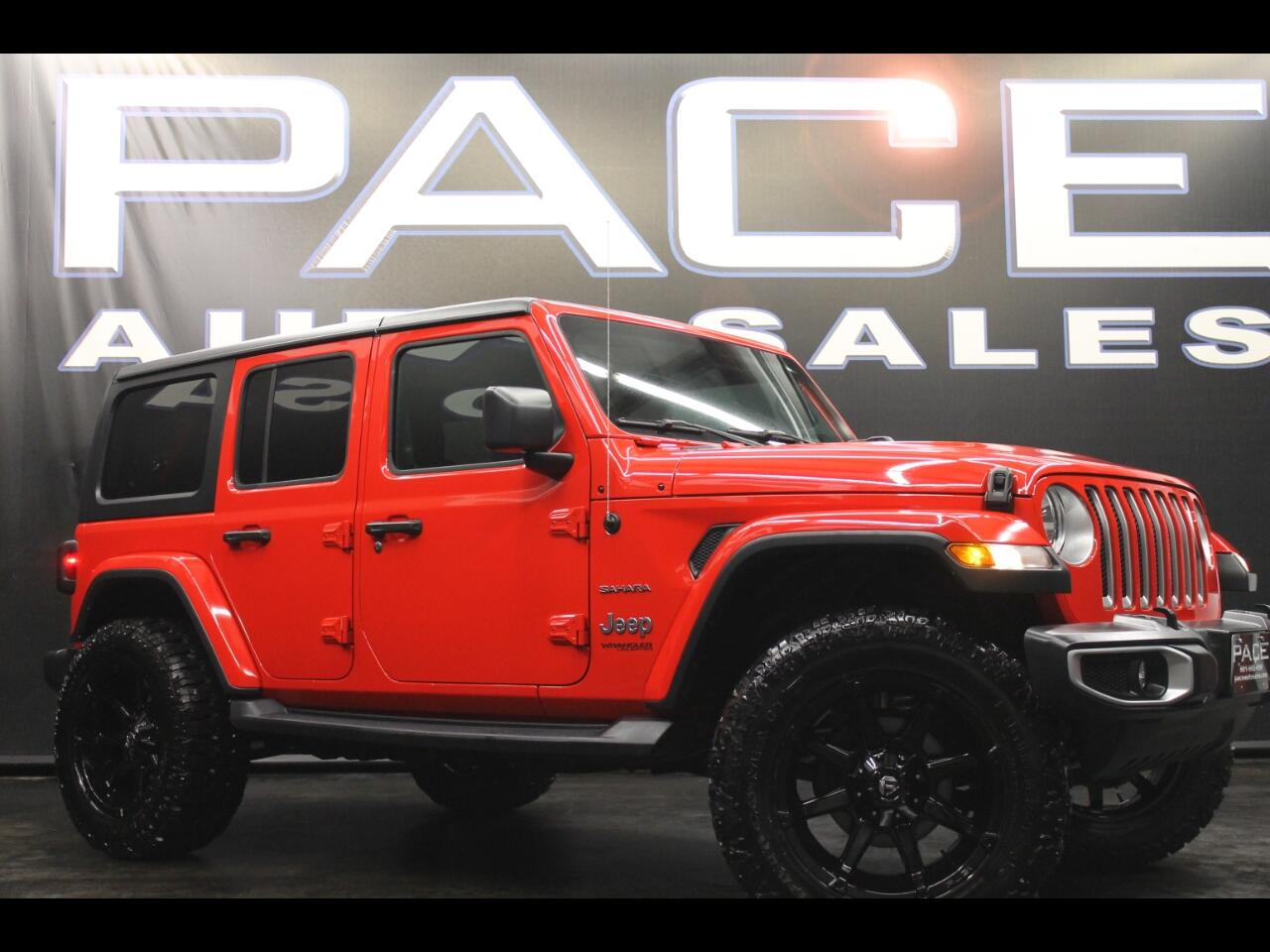 2018 Jeep Wrangler Unlimited Sahara 4x4 Lifted Custom