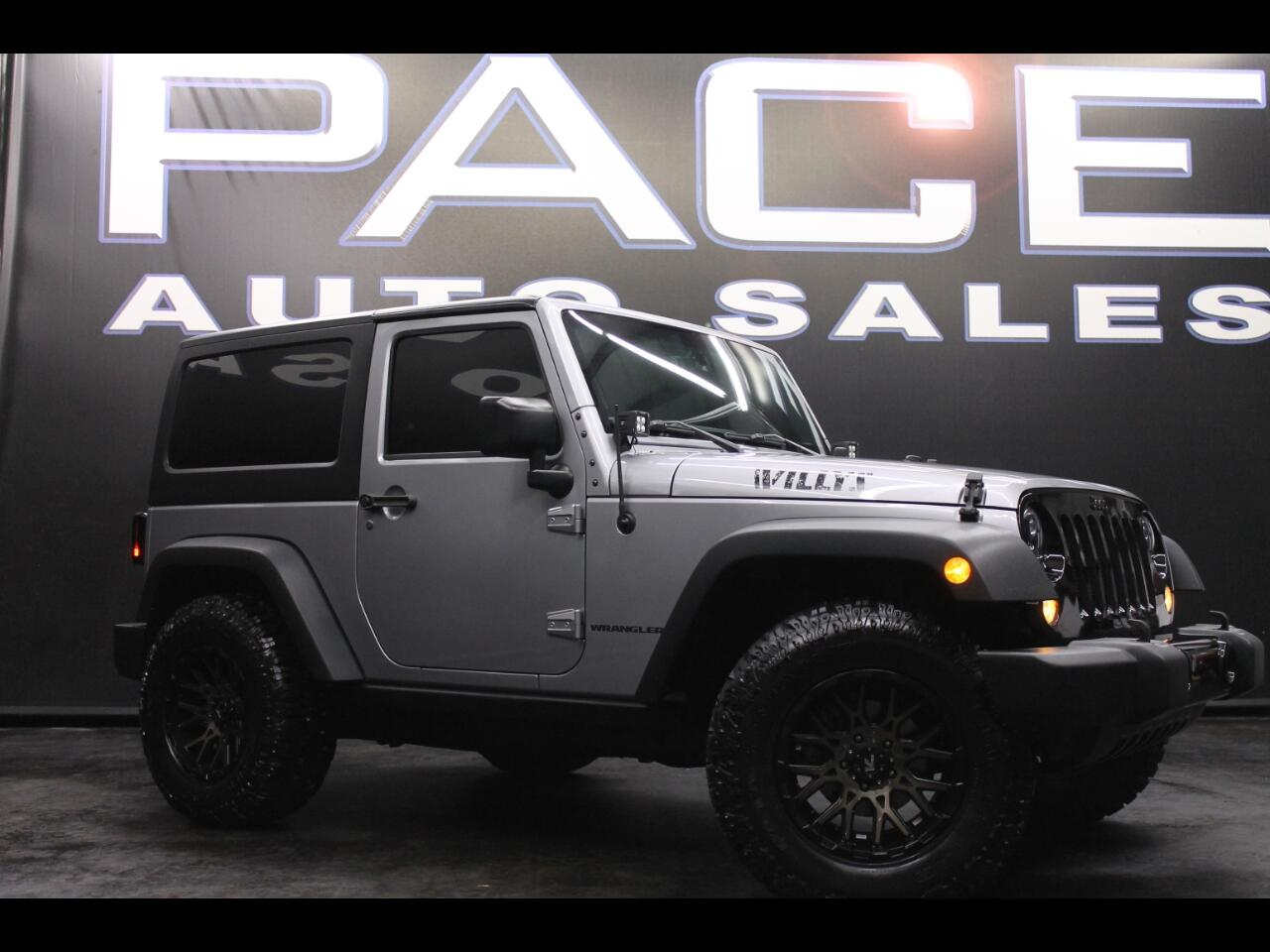 2015 Jeep Wrangler 4WD 2dr Willys Wheeler Lifted Custom