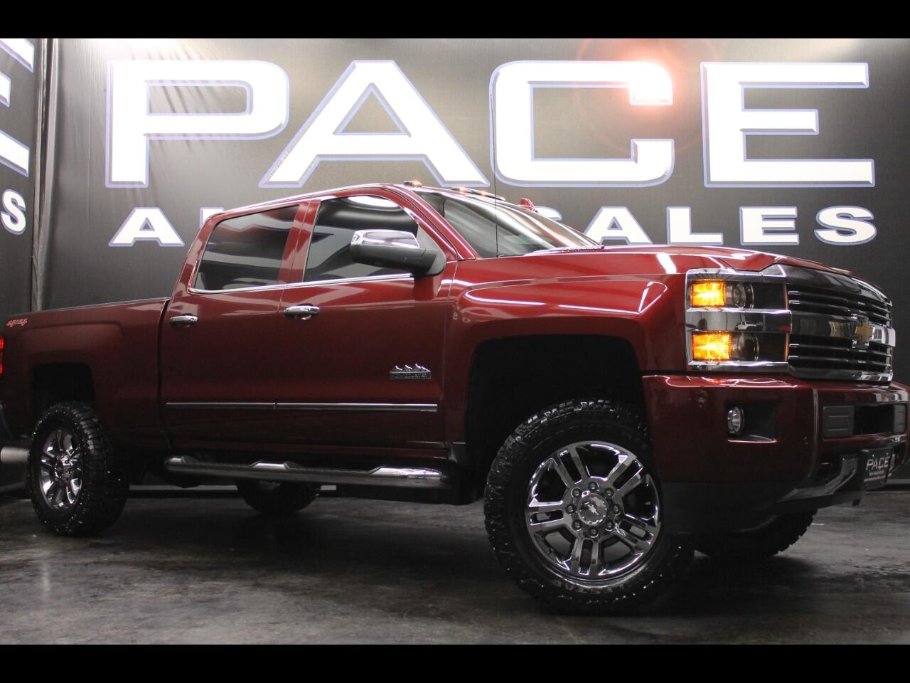 2016 Chevrolet Silverado 2500HD 4WD Crew Cab High Country Leveled