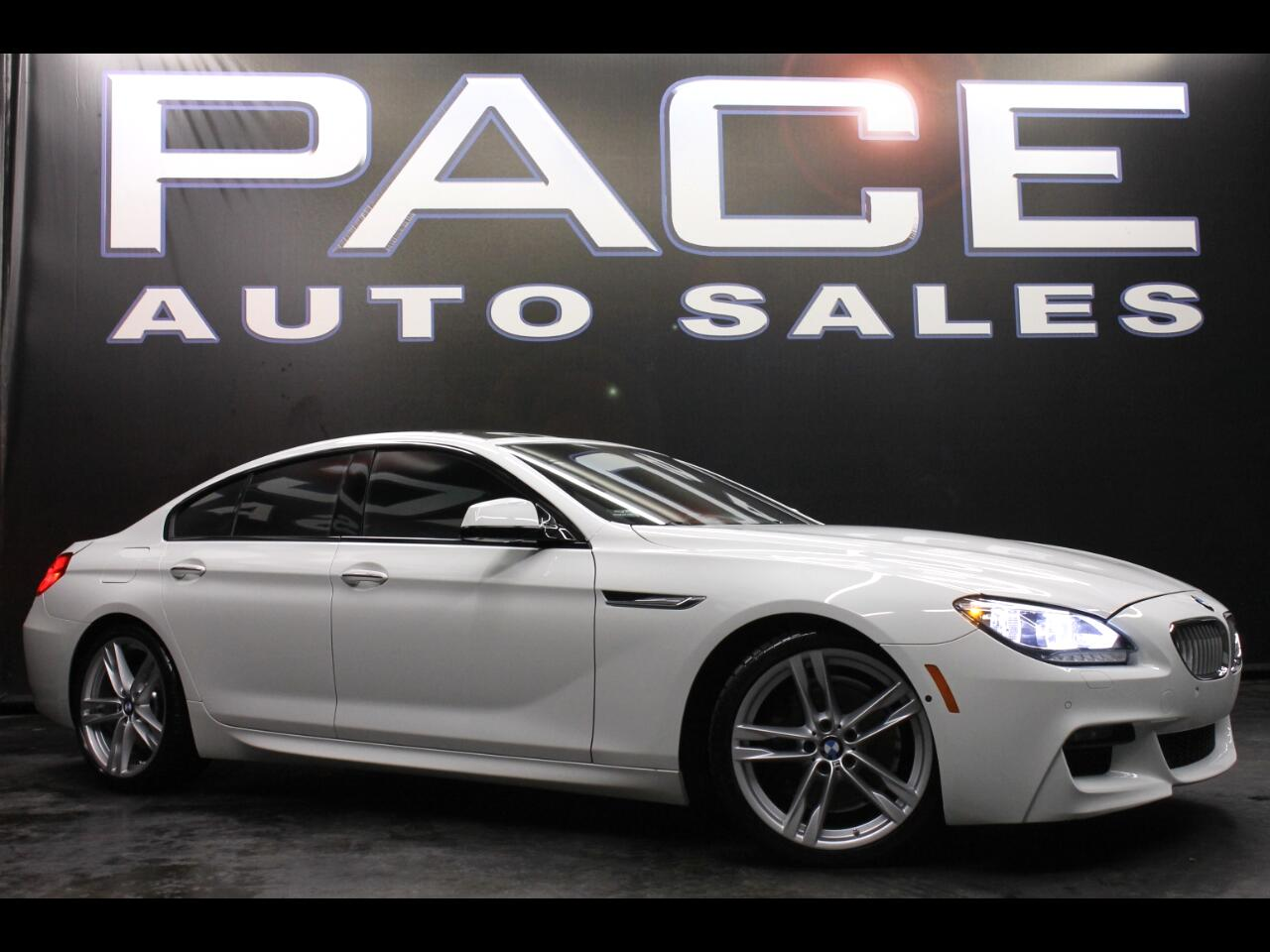 2015 BMW 6 Series Sdn 650i Gran Coupe M Sport Package