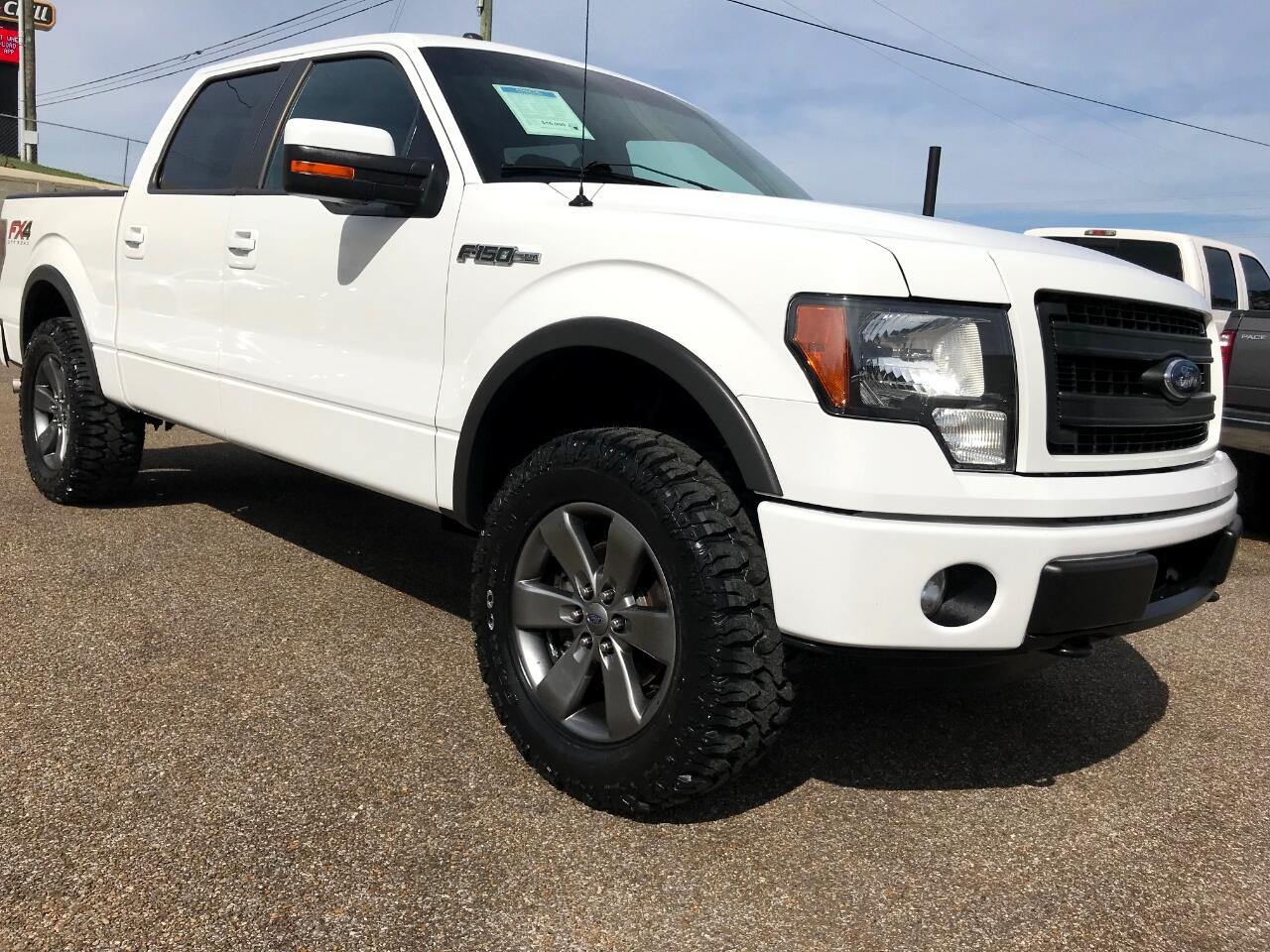 2013 Ford F-150 4WD SuperCrew FX4 Leveled