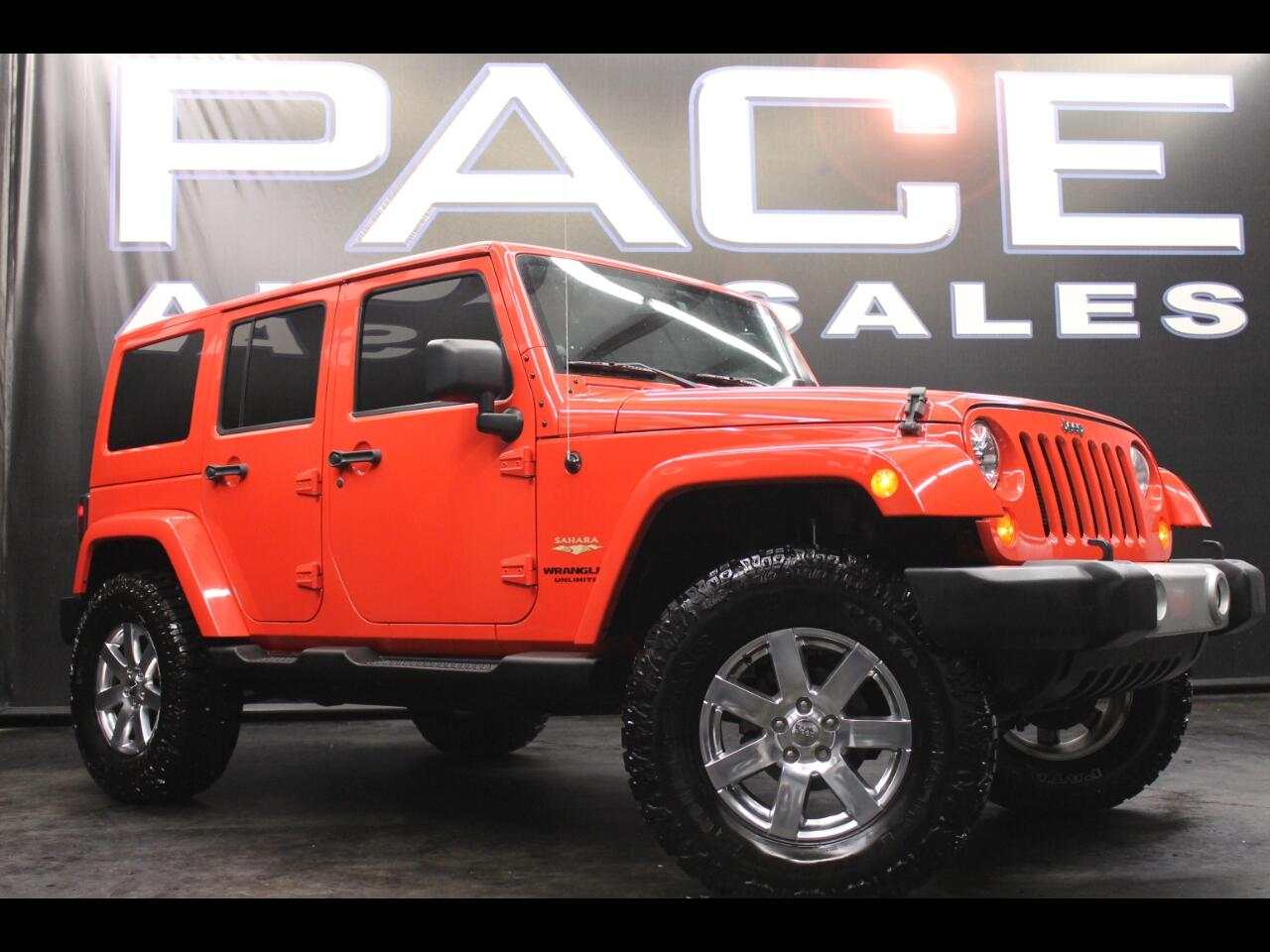 2013 Jeep Wrangler Unlimited 4WD 4dr Sahara Lifted