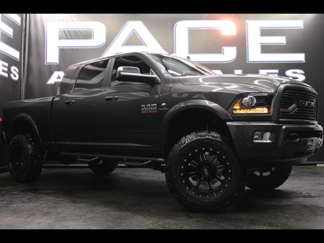 2018 RAM 2500 Laramie 4x4 Mega Cab Lifted Custom