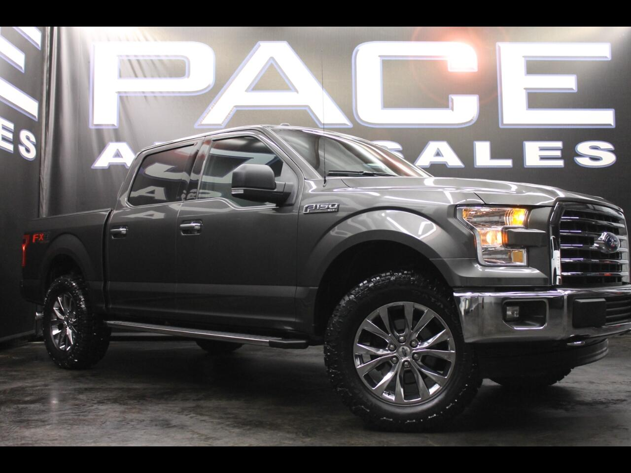 2017 Ford F-150 4WD SuperCrew FX4 Leveled