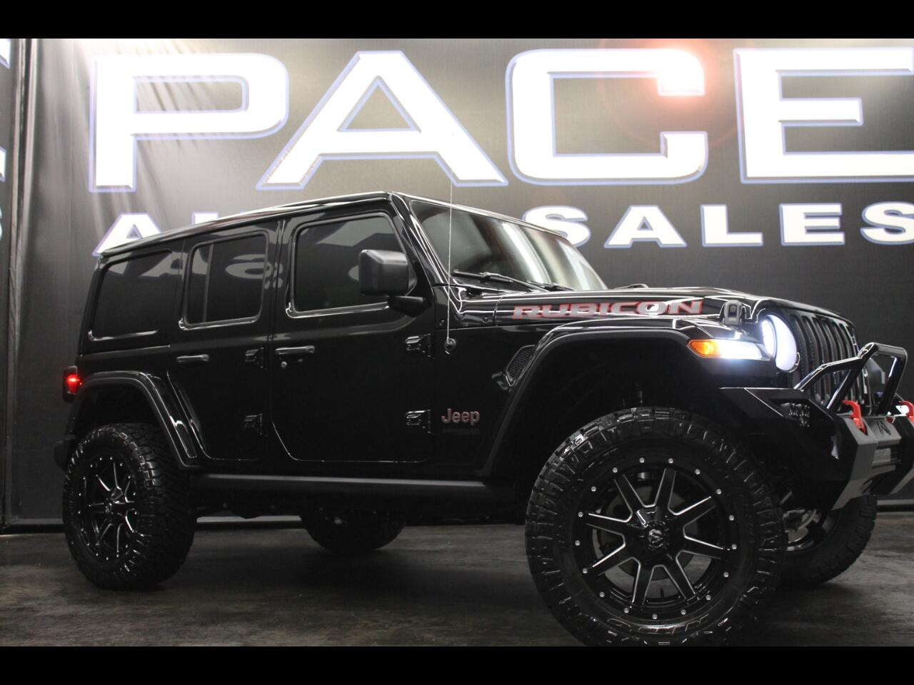 2018 Jeep Wrangler Unlimited Rubicon 4x4 Custom Lifted