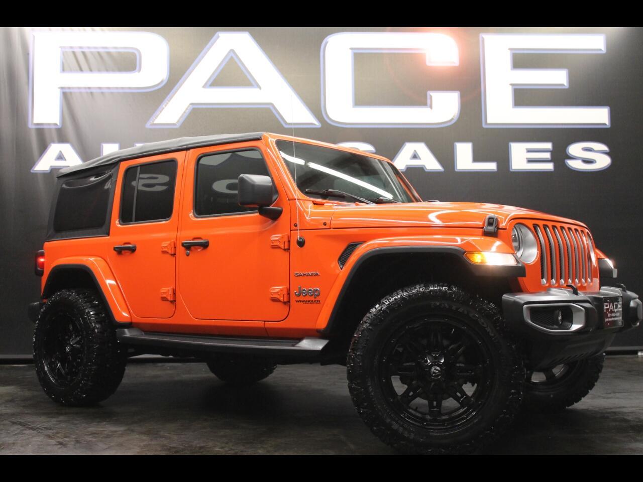 2018 Jeep Wrangler Unlimited Sahara 4x4 Unlimited Lifted Custom