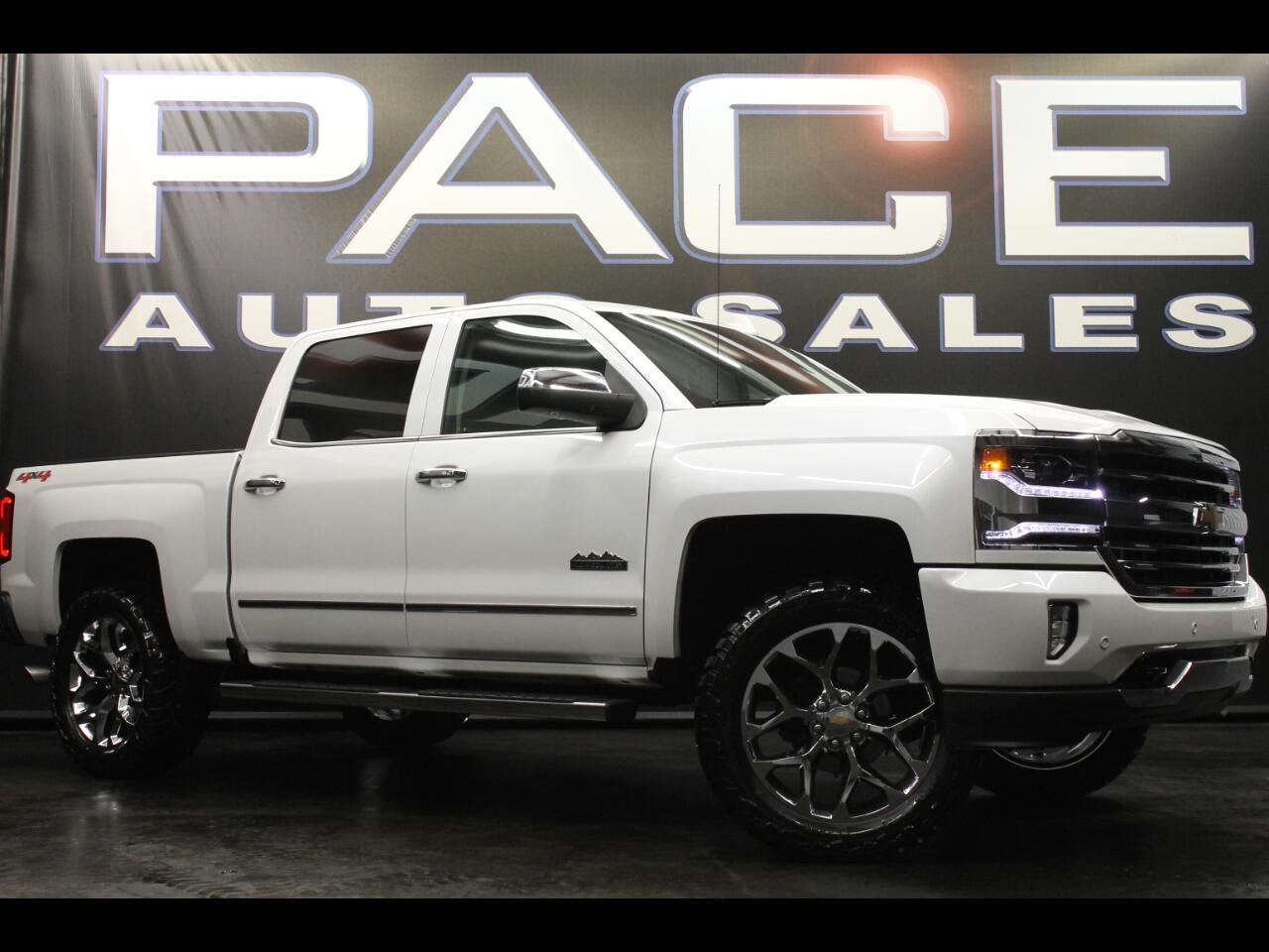 2016 Chevrolet Silverado 1500 4WD Crew Cab High Country Leveled Custom