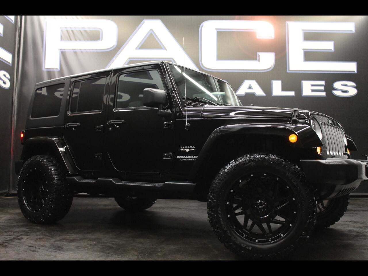 2017 Jeep Wrangler Unlimited Sahara 4x4 Lifted Custom
