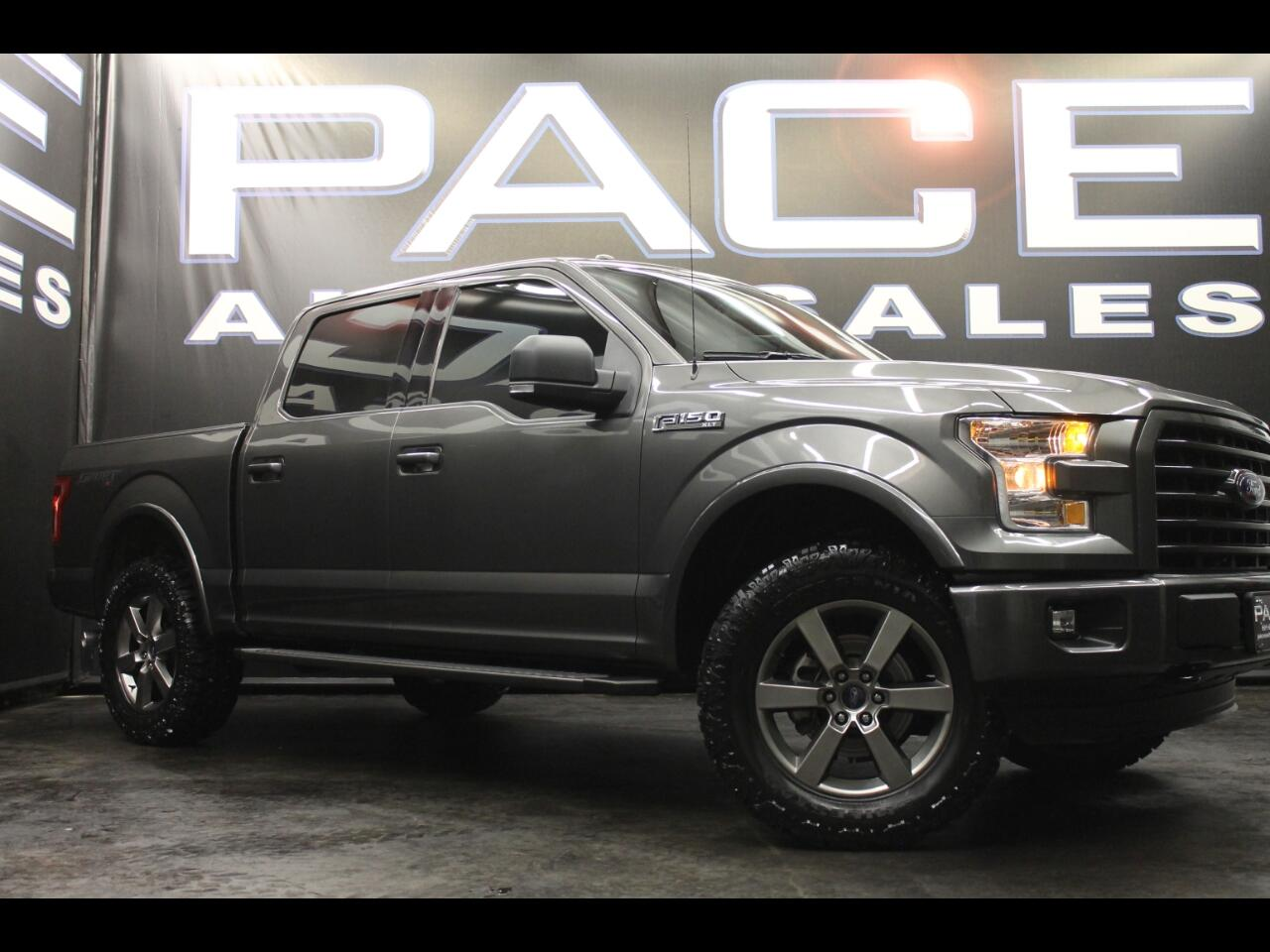 2016 Ford F-150 4WD SuperCrew Sport Leveled