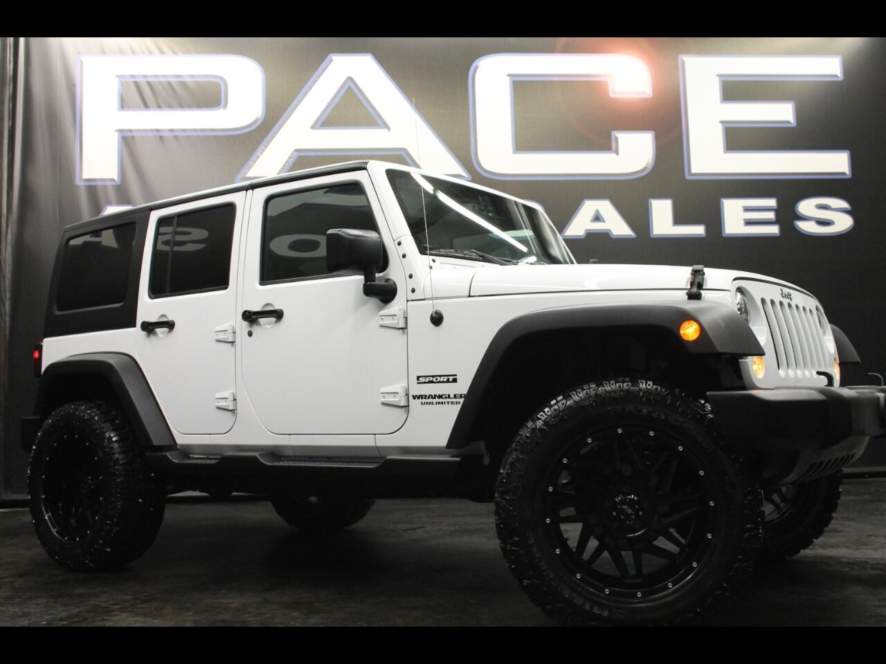 2016 Jeep Wrangler Unlimited 4WD Sport Lifted Custom