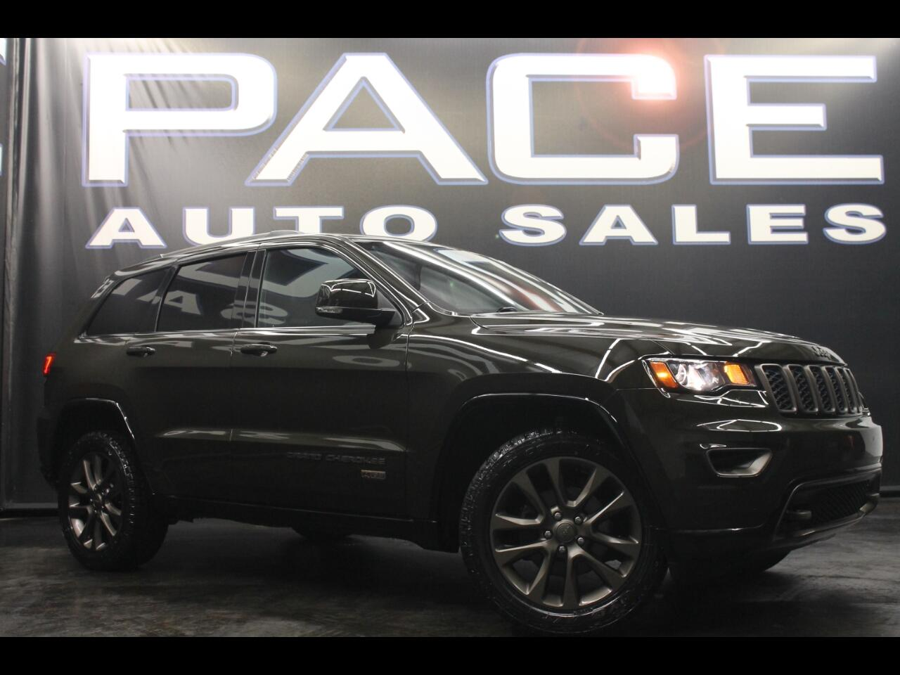 2016 Jeep Grand Cherokee 4WD Limited 75th Anniv Leveled