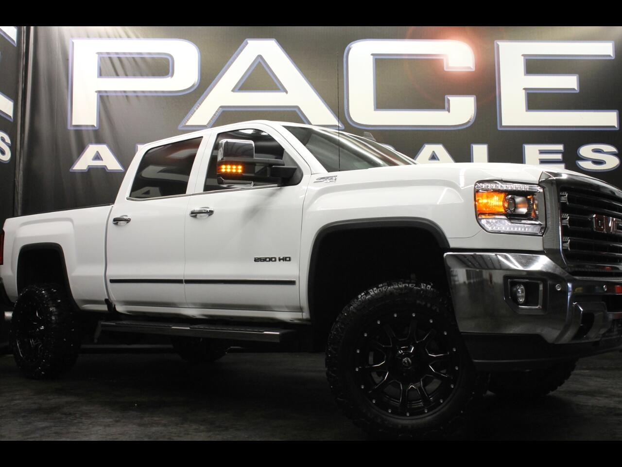 2016 GMC Sierra 2500HD 4wd Crew Cab SLT Z71 Lifted Custom
