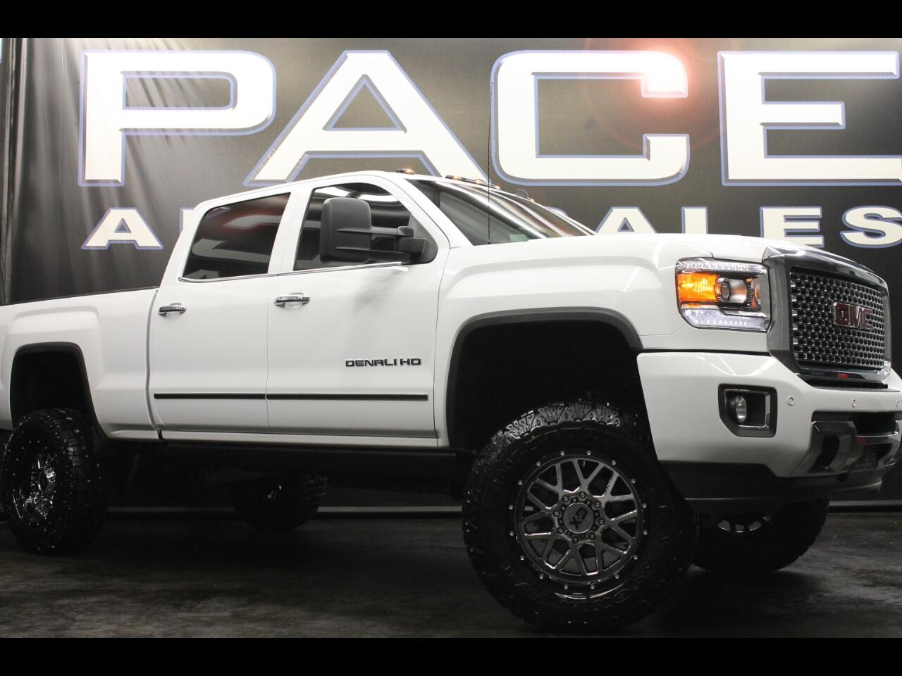 2015 GMC Sierra 2500HD 4WD Crew Cab Denali Lifted Custom