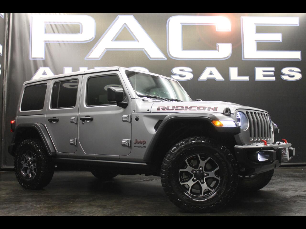 2018 Jeep Wrangler Unlimited Rubicon 4x4 Leveled