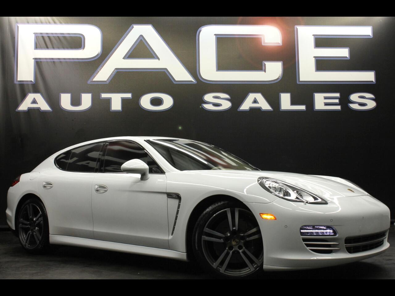 2013 Porsche Panamera 4dr HB Platinum Edition