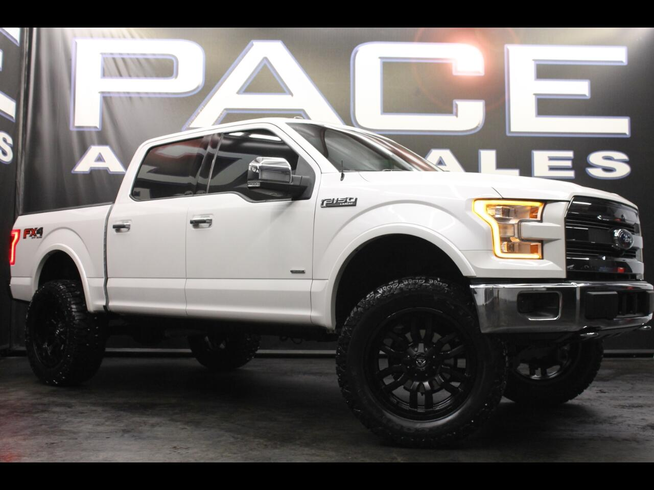 2015 Ford F-150 4WD SuperCrew Lifted Lariat FX4!!
