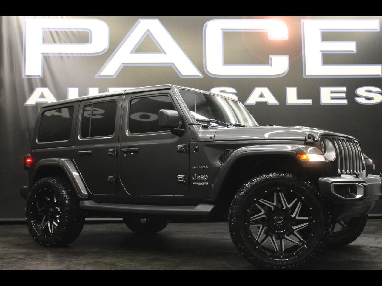 2019 Jeep Wrangler Unlimited Sahara 4WD Lifted Custom