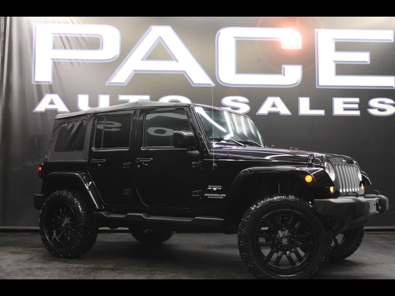 2017 Jeep Wrangler Unlimited Sahara 4x4 Lifted Custom