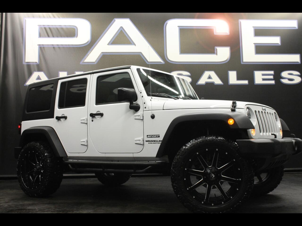 2015 Jeep Wrangler Unlimited 4WD 4dr Sport Lifted Custom