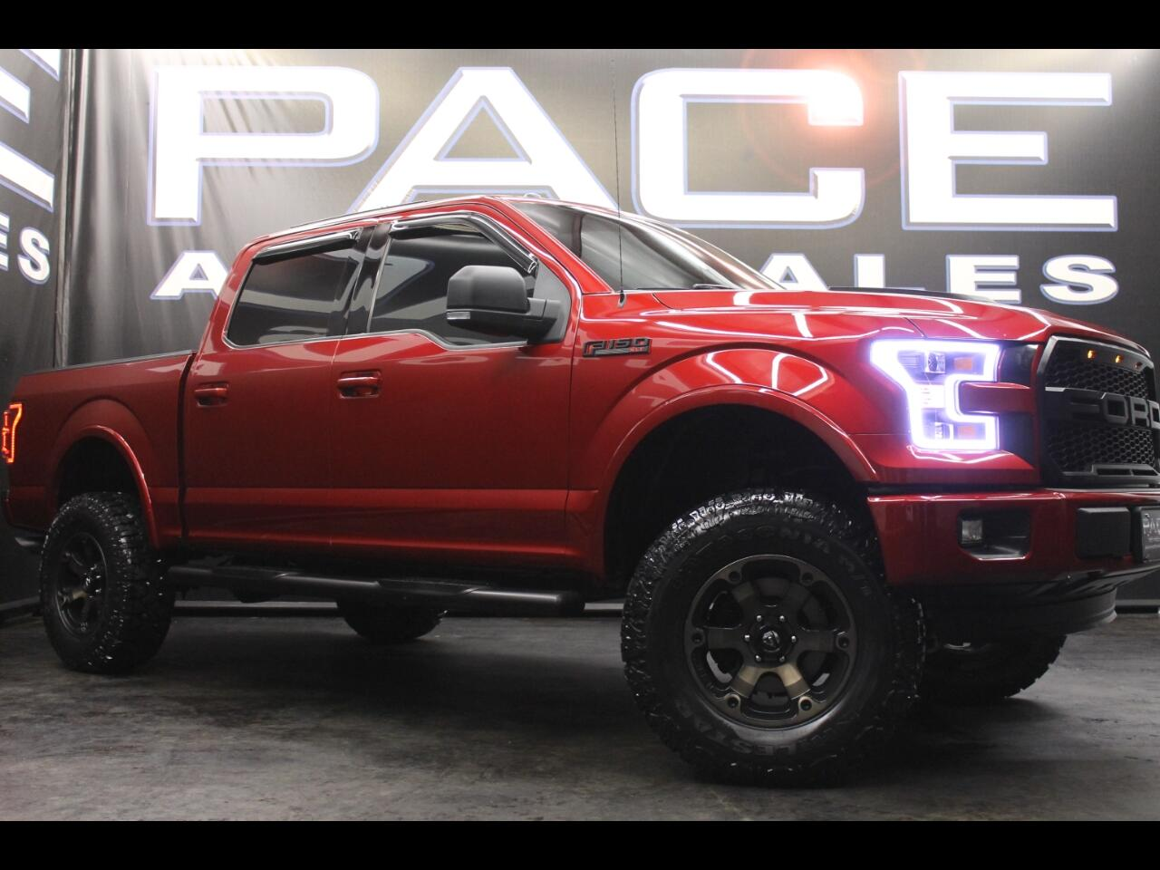 2015 F150 Lifted >> Used 2015 Ford F 150 4wd Supercrew Lifted Custom For Sale In