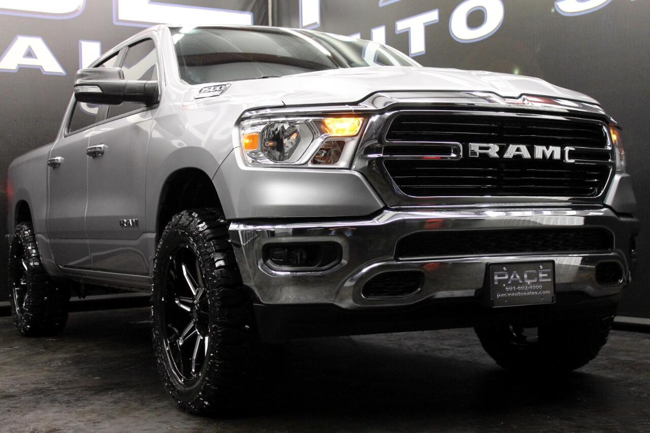 2019 RAM 1500 Big Horn 4x4 Crew Cab Leveled Custom