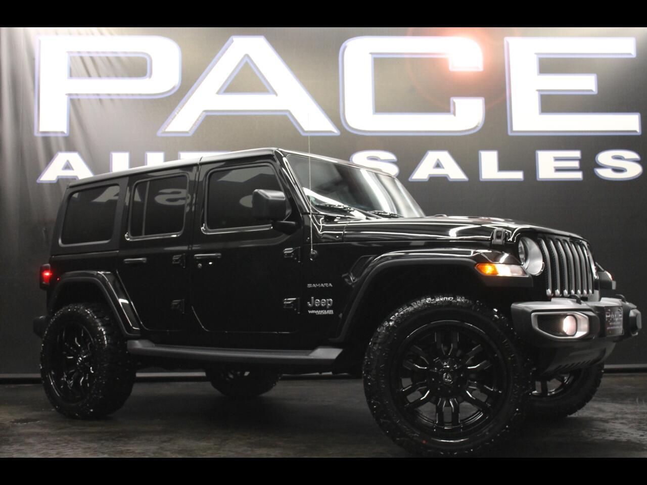2019 Jeep Wrangler Unlimited Sahara 4x4 Lifted Custom