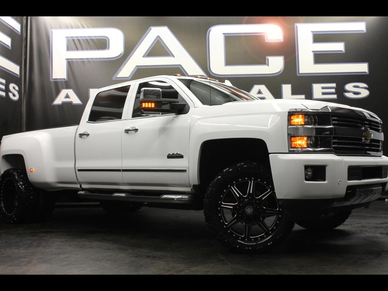2015 Chevrolet Silverado 3500HD 4WD Crew High Country Leveled Custom