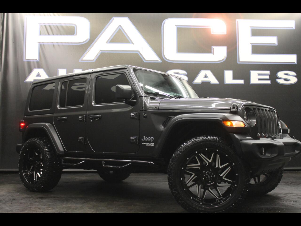Used 2020 Jeep Wrangler Unlimited Sold In Hattiesburg Ms 39402 Pace Auto Sales
