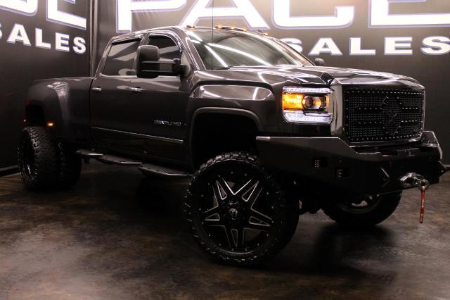 2015 GMC Sierra 3500HD Denali Crew Cab 4WD CUSTOM LIFTED
